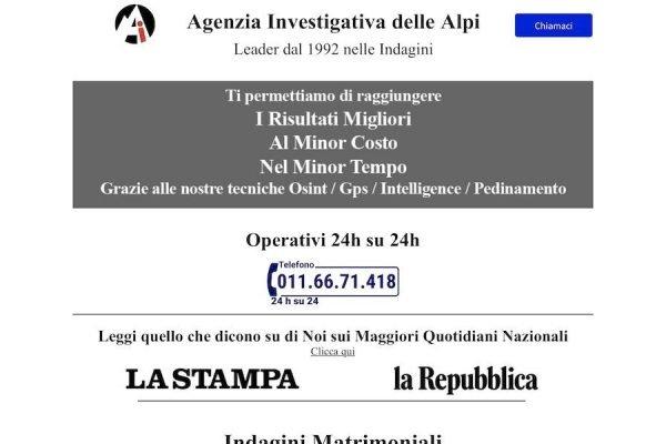 Agenzia Investigativa Delle Alpi
