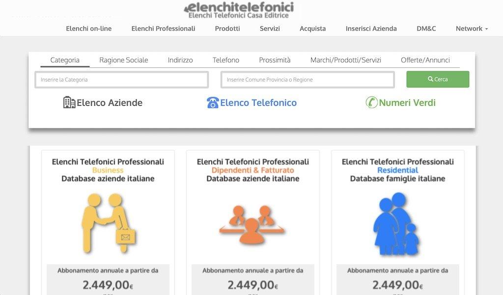 Elenchi Telefonici