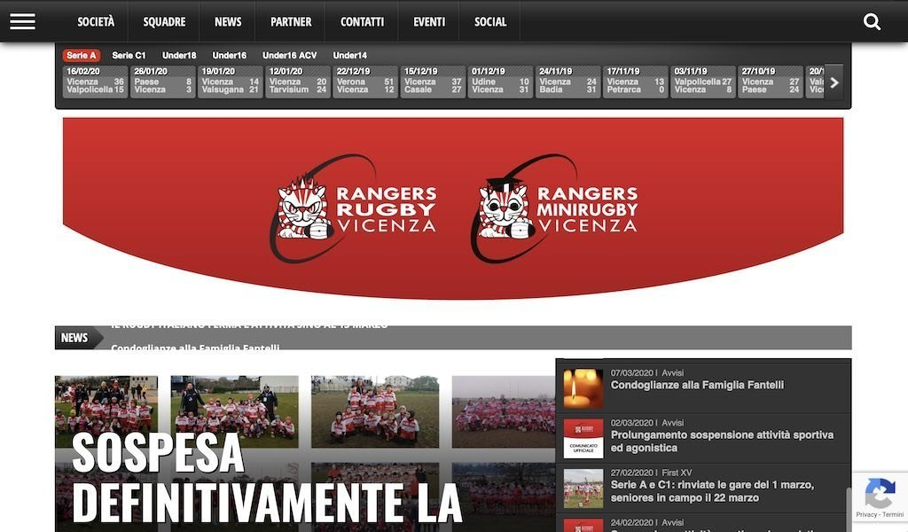 Rangers Rugby Vicenza